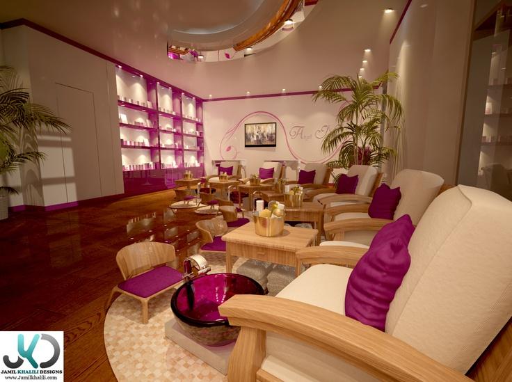 Angel Nails Saloon - Dubai - Marina By Jamil Khalili At Coroflot.com | *ART ~ Renderings ...
