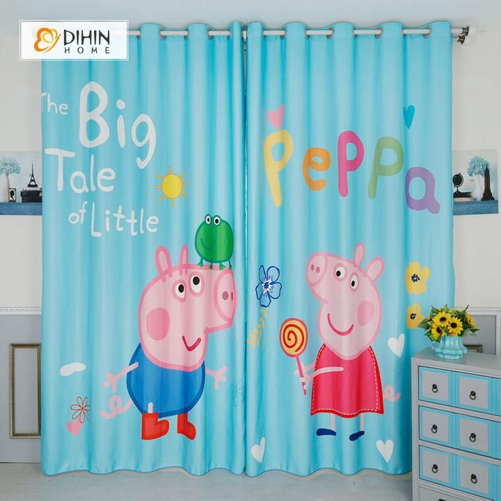 Peppa Pig Window Panels