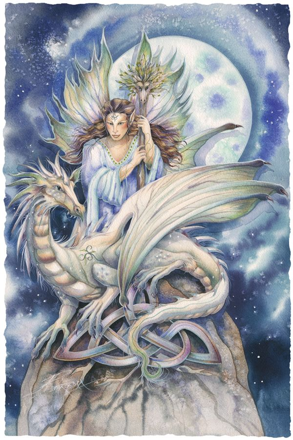Bergsma Gallery Press :: Paintings :: Fantasy :: Faeries :: Ride Your Dreams They Will Take You Far - Prints