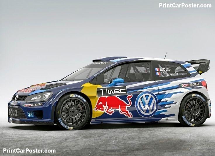 Volkswagen Polo R WRC Racecar 2015 poster, #poster, #mousepad, #tshirt, #printcarposter