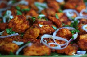 The Bengali Gourmet's Blog: Tandoori Fish Kababs
