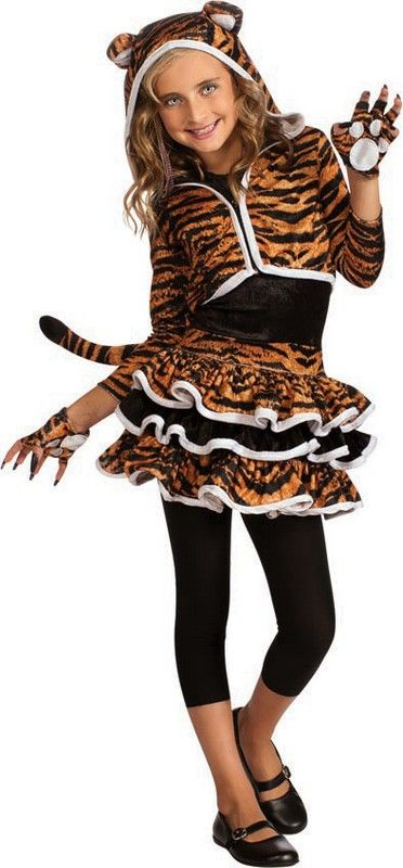 kid tiger costume costumes kids costumes animal costumes tiger girl child halloween - Pictures Of Halloween Costumes For Toddlers