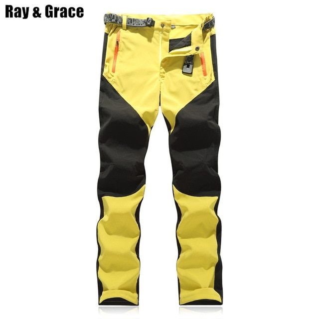77ff36f6b3a RAY GRACE Hiking Pants Men Summer Waterproof Outdoor Stretch Quick Dry  Pants Trekking Fishing Trousers Hunting