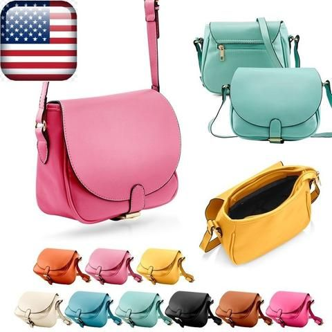 Women Leather Shoulder Bag Clutch Handbag Fashion Tote Purse Hobo Messenger.