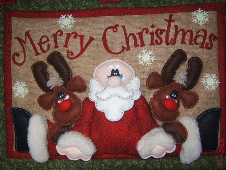 Pannello Babbo Natale