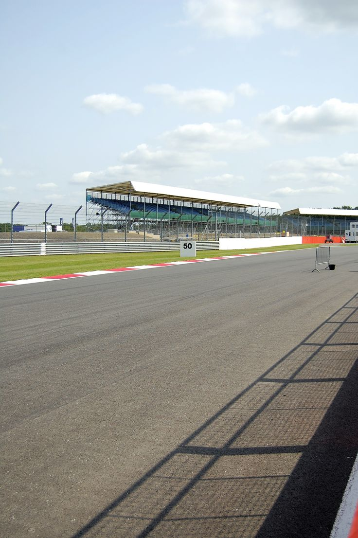 Great view down the track at Silverstone