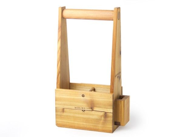Meriwether: Wine Carriers, Wooden Accessories http://www.thegrommet.com/entertaining/meriwether-wine-carrier