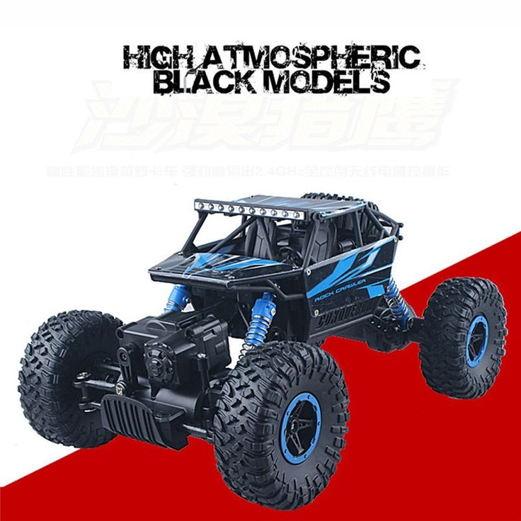 (39.30$)  Buy here  - Hot RC Car 2.4G Rock Crawler Bigfoo 1/18 2.4GHZ 4WD Radio Remote Control Off Road RC Car ATV Buggy Monster Truck  Model Toy