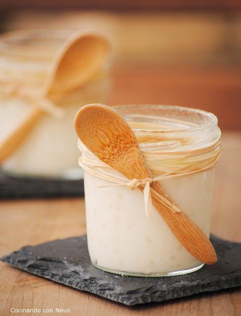 Neus cocinando con Thermomix: Arroz con leche de coco