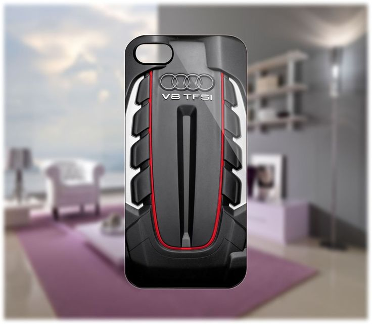 Bmw Z10: Audi Twin Turbo V8 Case For IPhone 5/4/4S Samsung Galaxy