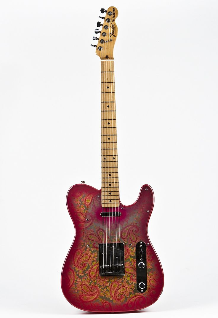 Late 80's Fender Pink Paisley Telecaster (Japan) I wanted this guitar so bad I couldn't see straight. My grandmother promised it to me if I was still playing at age 16. I gave up by the time I was 12. The next time I laid eyes on one, Brad Paisley had it slung around his neck.