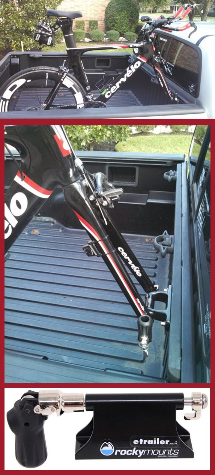 Rockymounts Loball Bike Rack For Truck Bed Factory Track Systems Fork Mount Bolt On Rockymounts Truck Bike Rack Truck Bed Bike Rack Bike Rack