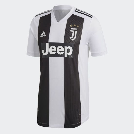 Juventus 18-19 Home Kit Released - Footy Headlines  be774a32c