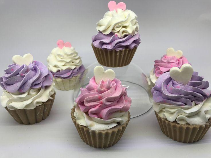 Cupcake soap by creandoarte on Etsy
