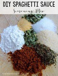 DIY Spaghetti Sauce Seasoning Mix