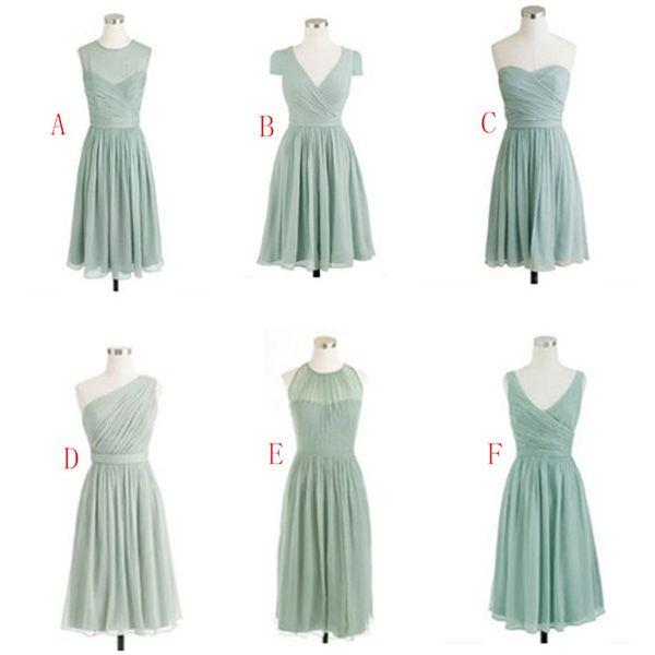 Kleid pastell knielang