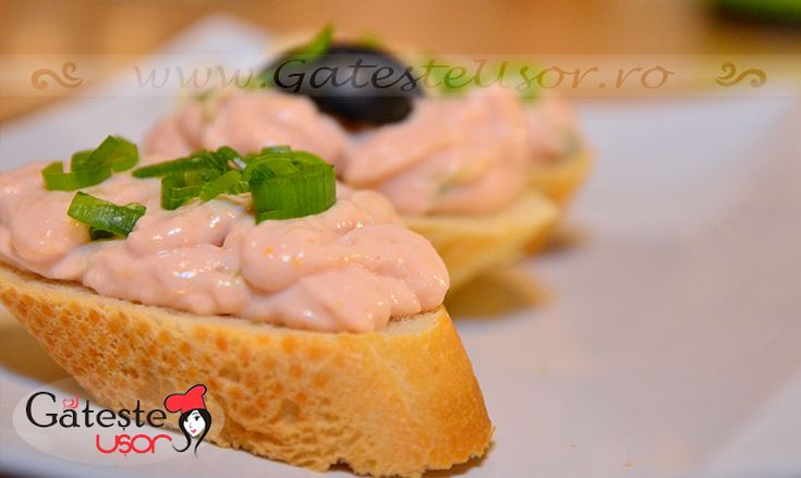 Salata de icre cu ceapa on http://www.gatesteusor.ro