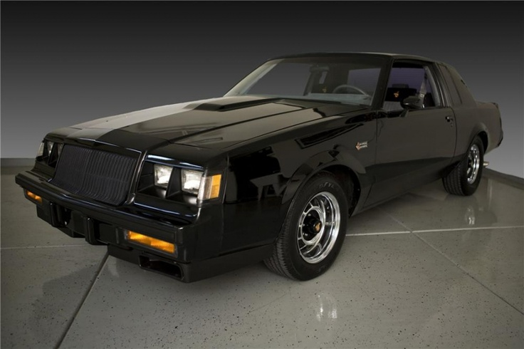 87 Buick GN.  Vader, your car is ready!