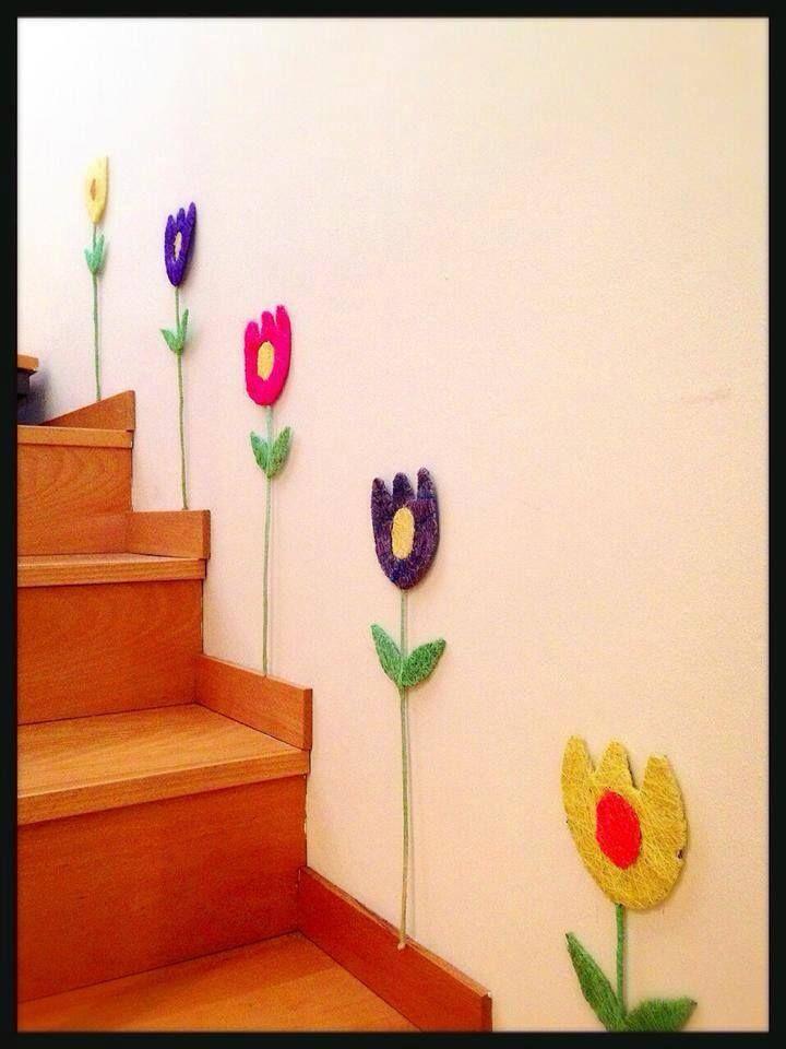 Mejores 16 im genes de manualidades con flores y plantas for Manualidades de jardineria