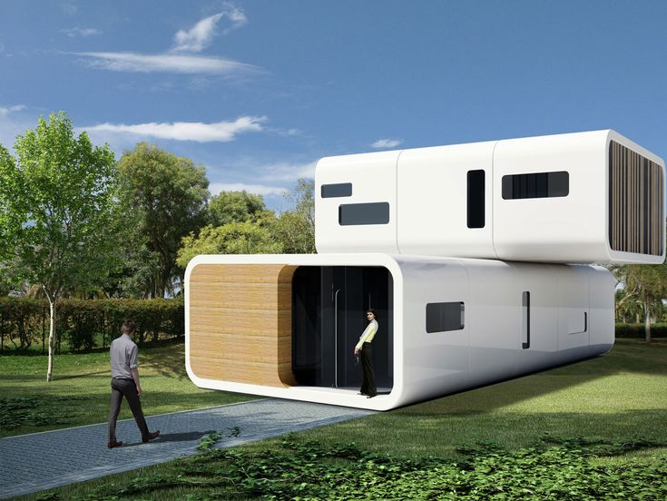 Coodo Residential Building My Home Is A Modular Prefabricated For Future Living You Can Combine Multiple Units Horizontally And Vertically To