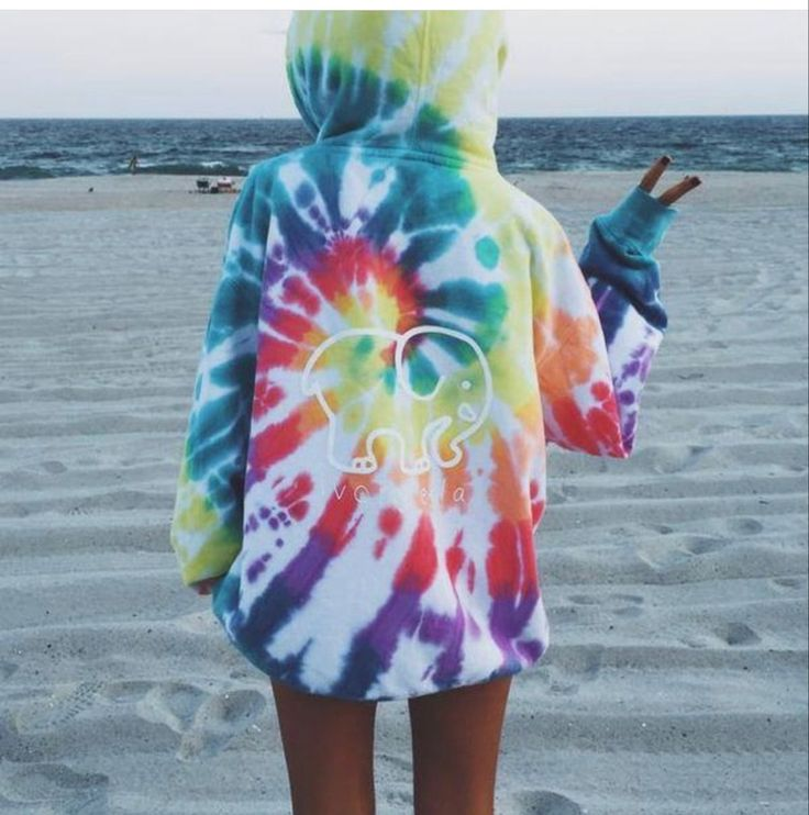 how to tie dye a hoodie with food coloring