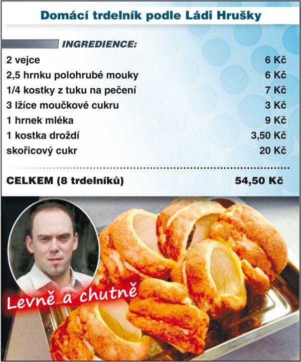 Levně a chutně s Ladislavem Hruškou - Trdelník