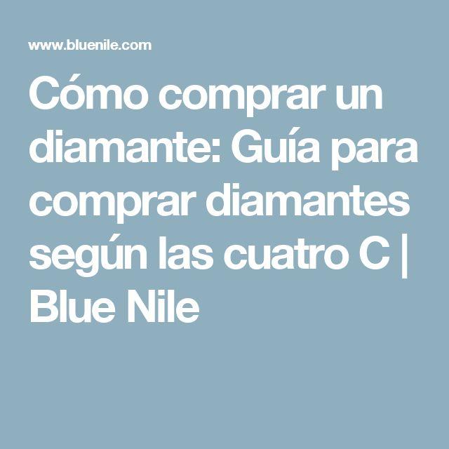 Cómo comprar un diamante: Guía para comprar diamantes según las cuatro C | Blue Nile