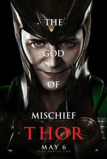 Loki God of Mischief, and God of Love! Ehehe