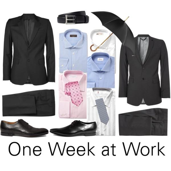 Man Monday: One Week at Work.