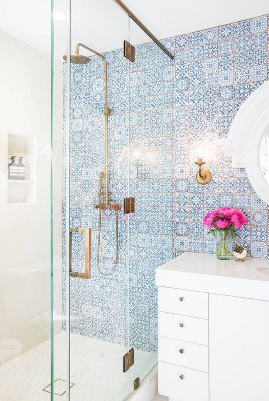 Four Unbelievable Before After Bathroom Makeovers White Bathroomsblue And Whiteremodelingbathroom Ideastile
