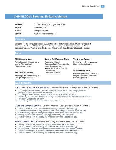 22 best Resumes and Cover Letters images on Pinterest Cover - traditional resume template free