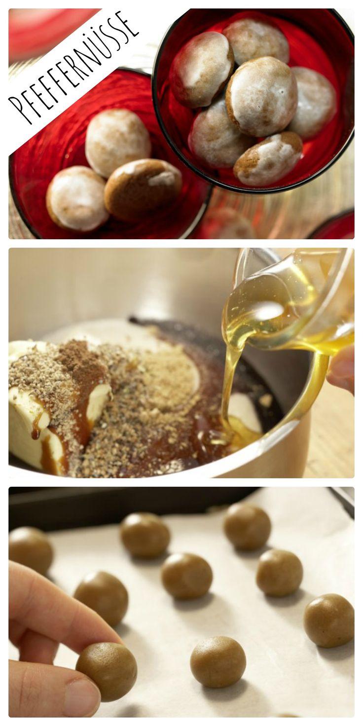 Pfeffer, Ingwer, Kardamom und Piment geben den Geschmack: Pfeffernüsse mit Ingwer und Kardamom   http://eatsmarter.de/rezepte/pfeffernuesse