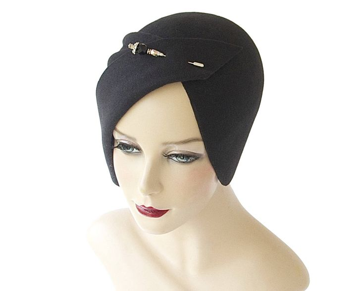 Cloche Hat Spring Fashion Spring Accessory Great Gatsby Hat Women's Flapper Hat Hand Draped Hat 1920s Cloche Hat Fall Hat Evening Hat by KatarinaHats on Etsy https://www.etsy.com/listing/238936481/cloche-hat-spring-fashion-spring