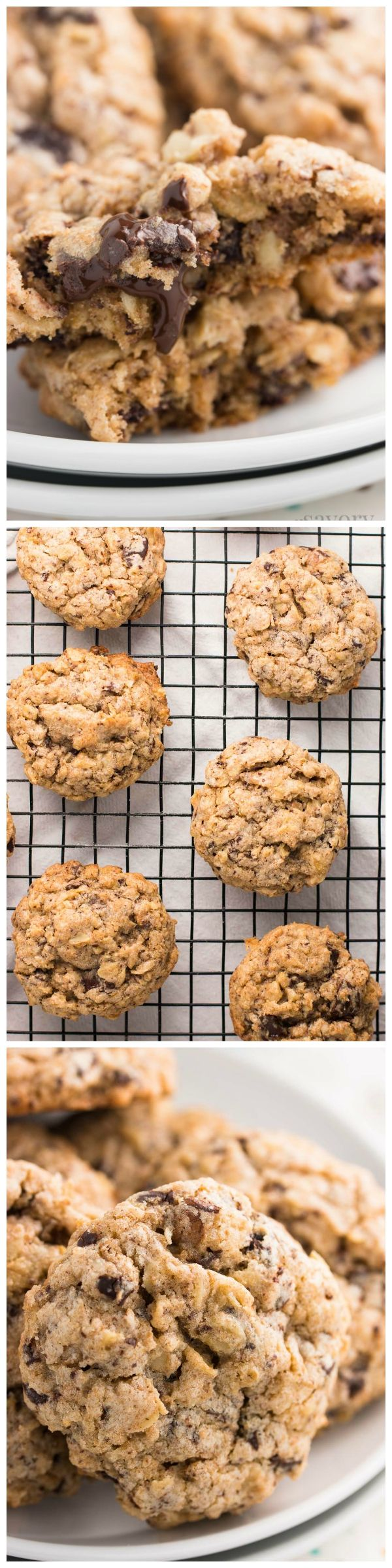 Easy oatmeal cookies recipe without butter