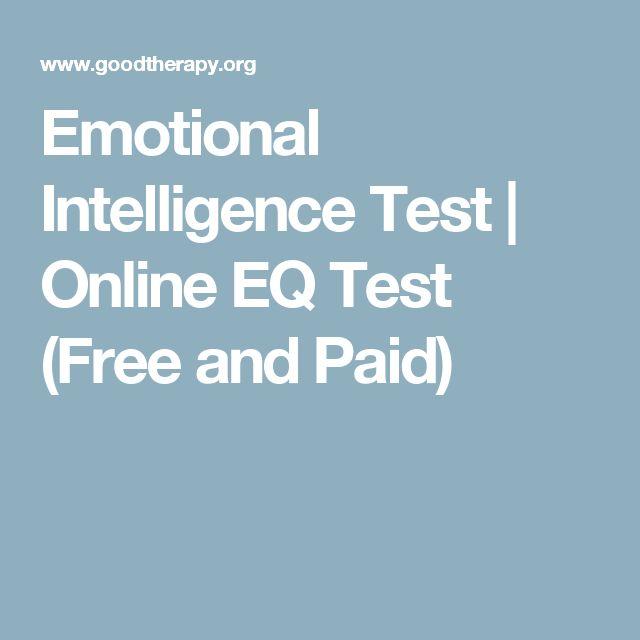 free emotional intelligence test pdf