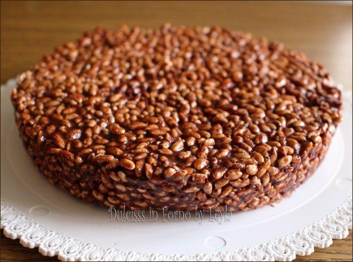 cheesecake con riso soffiato mascarpone e nutella cheesecake con riso soffiato e…