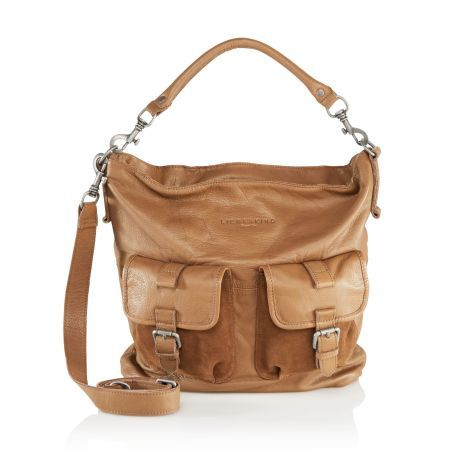 fbe749cfc36d Was eine Cargohose kann, kann diese Tasche schon lange! Leder-Bag in  lässiger Beutelform mit aufgesetzten Taschen und dezenter Labelprägung auf  der Front ...