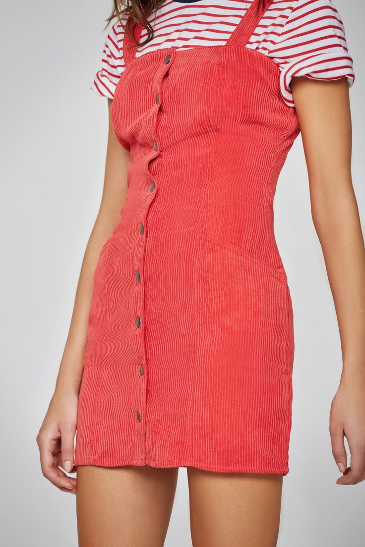 CENTRAL DRESS red | THE FIFTH | BNKR