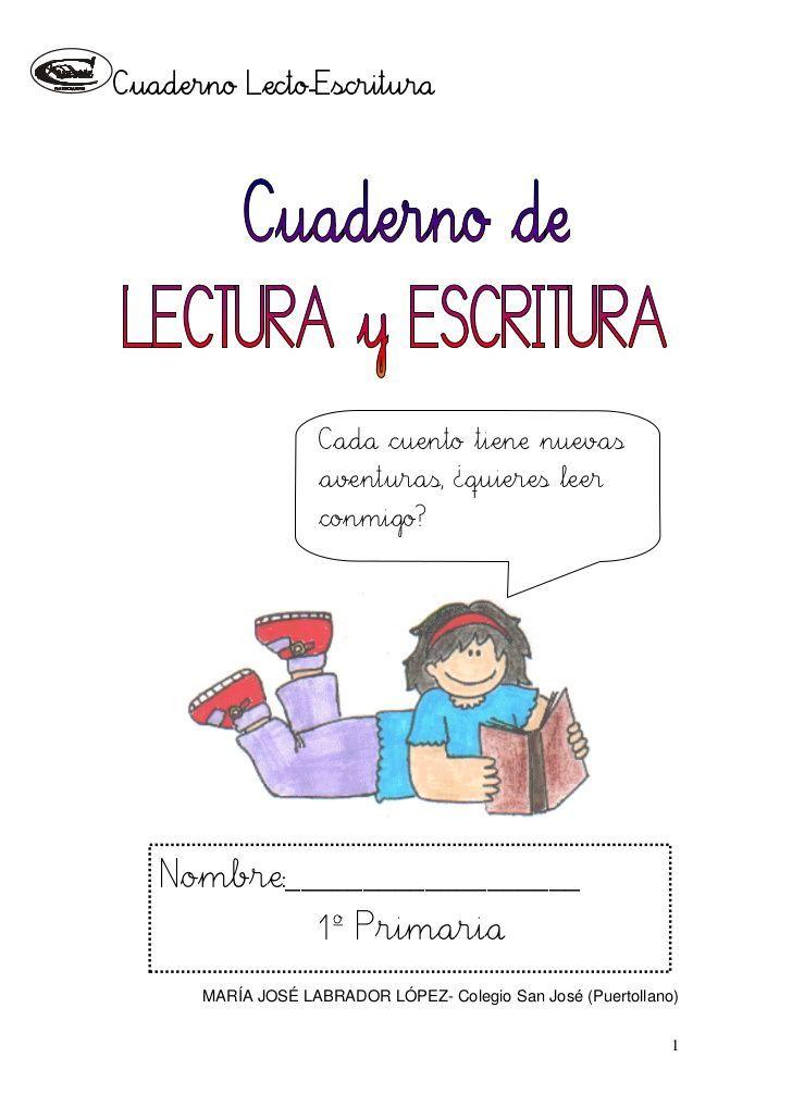 Cuaderno de lectoescritura i (1)(1) https://www.pinterest.com/Pollockro/lectura/