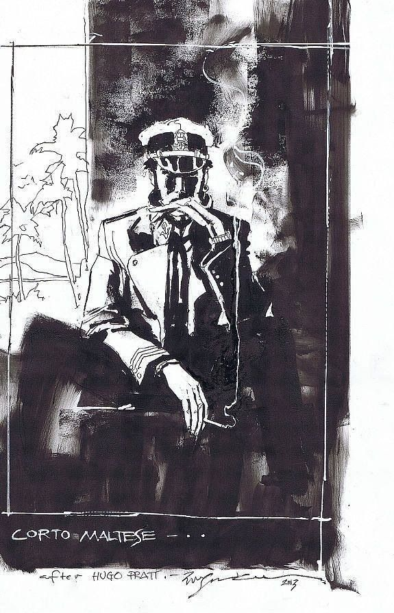 Corto Maltese by Bill Sienkiewicz