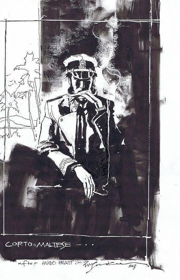 Corto Maltese by Bill Sienkiewicz