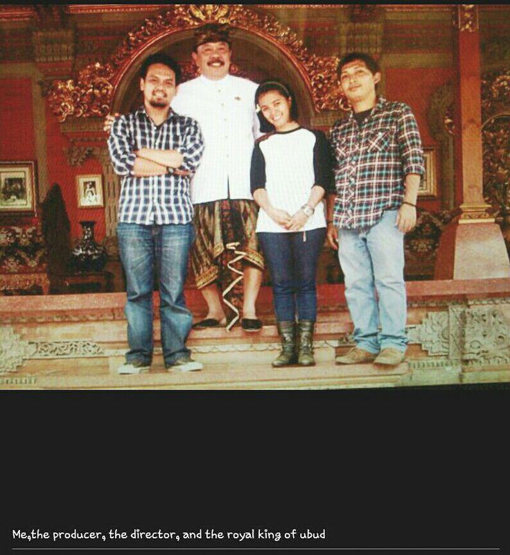 """At Ubud Palace """"Puri Ubud"""" making of Ubud Film"""