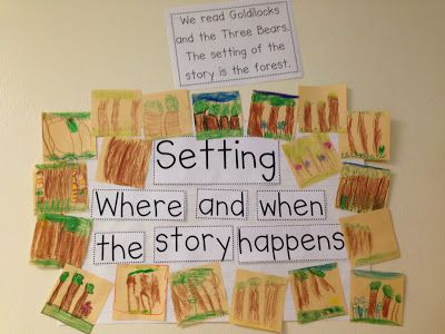 Chalk Talk: A Kindergarten Blog: Making Connections and Retelling Stories