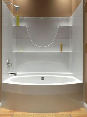 One Piece Bathtub Units Design In 2019 For The Home Bathroom Tub
