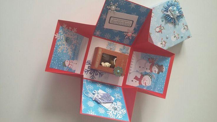 Explosion box natalizia 2