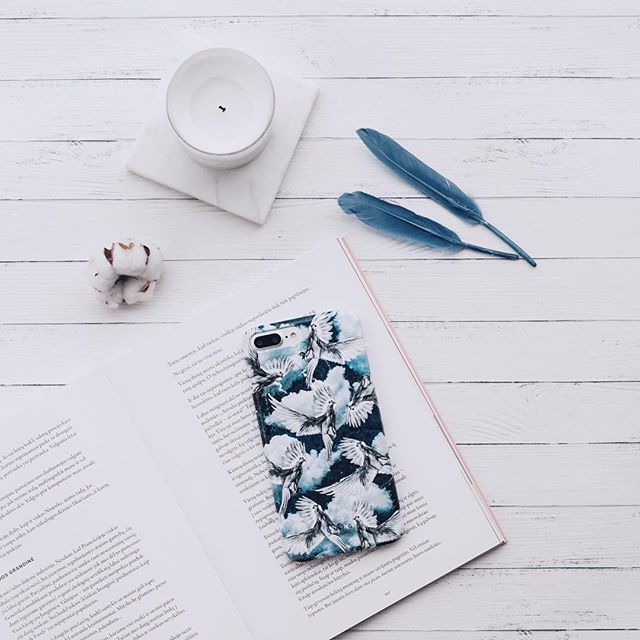 flatlay | myburga | burga | burgaofficial | flatlay inspiration | instagram photo idea | instagram flatlay | how to take flatlay picture | burga | minimal flat lay | iphone case | burga iphone case | burga phone cases | birds and clouds phone case | white bird cases | feather case