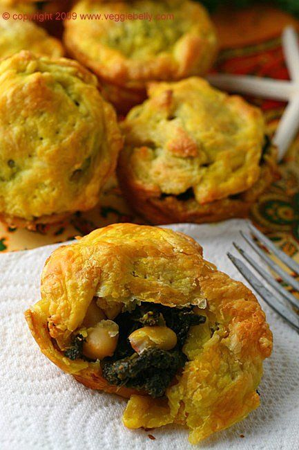 Jamaican Style Curried Kale and White Bean 'Patties'