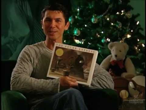 The Polar Express read by Lou Diamond Phillips on you tube.