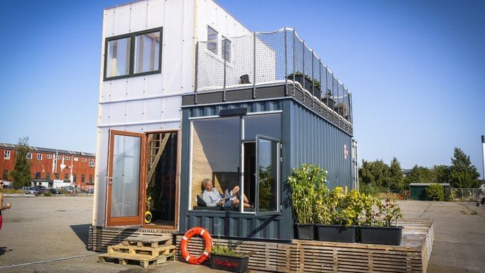 Shipping Container Student Homes - The CPH Shelter Home is Made From a Recycled Shipping Container (GALLERY)