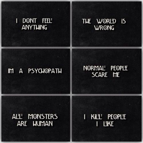 American horror story Tate Langdon - Season 1 Kit Walker - Season 2 Kyle Spencer - Season 3